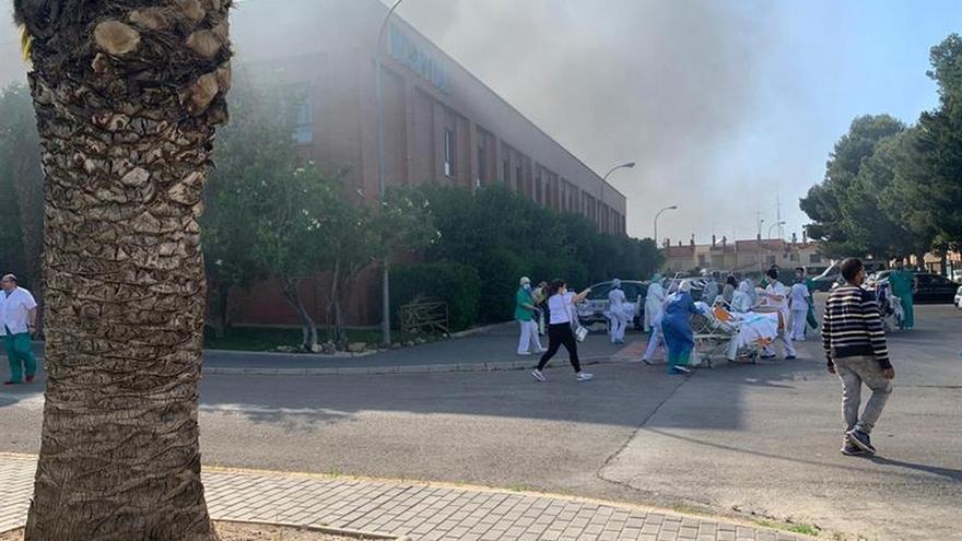 Agradecen la rápida actuación para evacuar Hospital de Hellín en 11 minutos