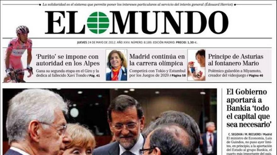 De las portadas del día (24/05/2012) #8