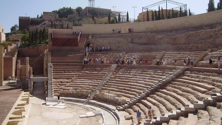El Teatro Romano de Cartagena ha recibido más de un millón de visitas desde 2008