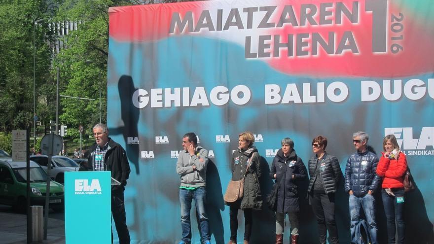 """ELA acusa a Gobierno vasco y Confebask de no poner freno a la precariedad y """"extender la miseria laboral"""""""