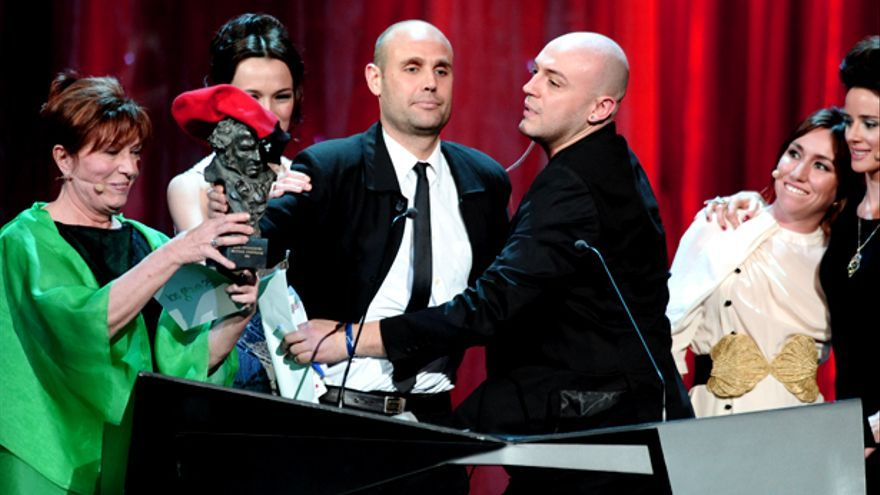 "Y el Goya es para ""Pa negre"", Javier Bardem y... Jimmy Jump"