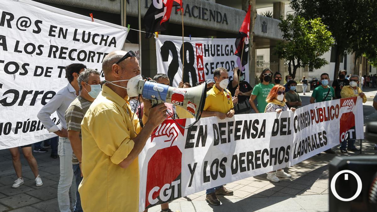 CGT convoca una concentración por la huelga general en el Sector Público de toda Andalucía