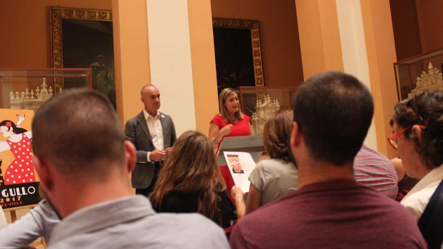 Presentación del cartel y programa del mes del orgullo de Sevilla 2017