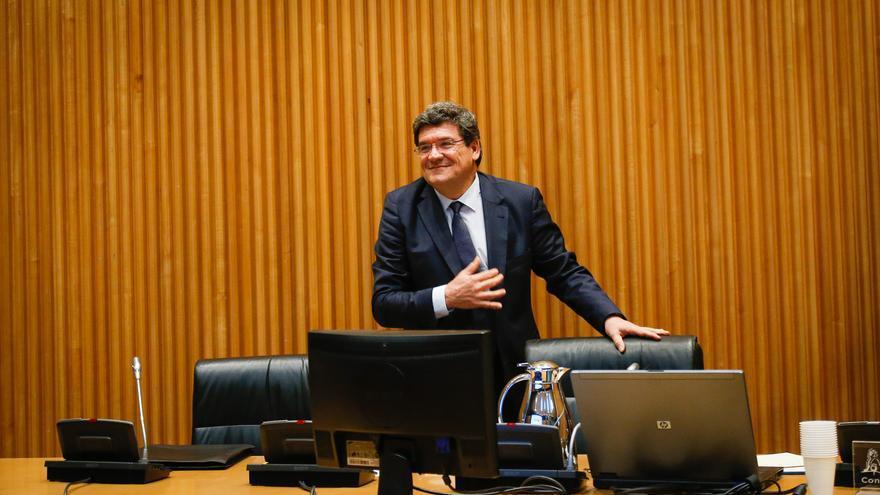 El ministro de Inclusión, Seguridad Social y Migraciones, José Luis Escrivá, en una imagen de archivo en el Congreso de los Diputados.