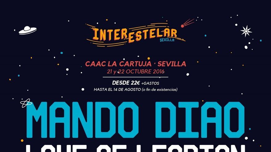 El Festival Interestelar contará con Zahara, León Benavente, 'Full', 'Mucho', 'Mechanismo' y 'We are England'