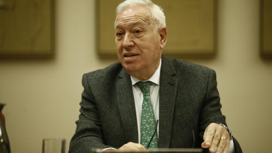 """Margallo dice que Aznar se refería a Latinoamérica al hablar de """"nuevos liderazgos"""" y reafirma su apoyo a Rajoy"""