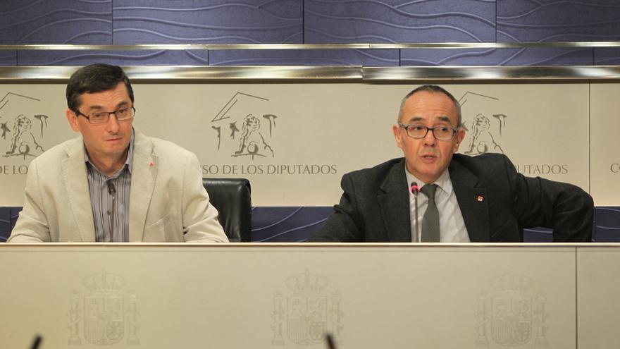 """Izquierda Plural espera que el apoyo del PSOE a la modificación del 135 de la Constitución no sea """"un brindis al sol"""""""