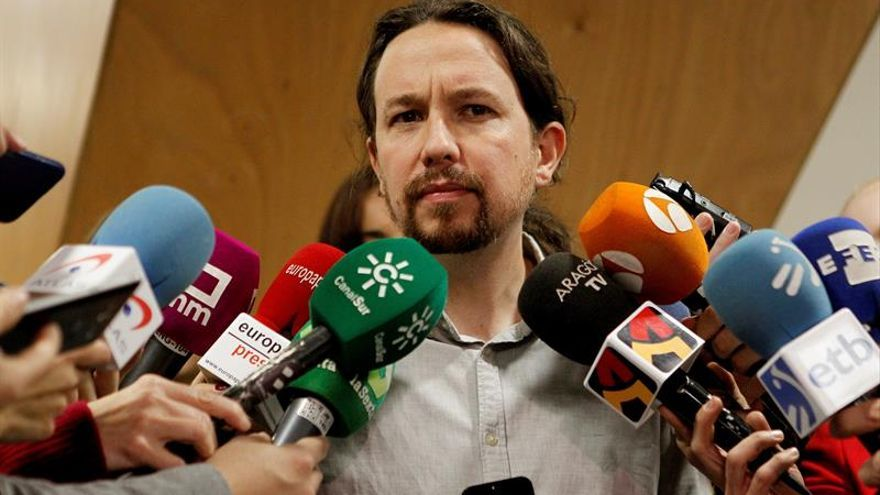 Iglesias cuestiona que se pueda presidir la Generalitat desde Bruselas