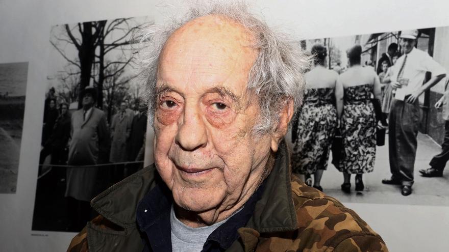 Robert Frank en New York en una imagen de archivo en 2016