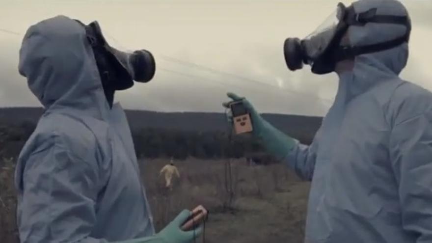 Captura de una imagen del corto 'La Fuga Radiactiva'
