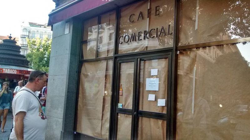 El Café Comercial, el día de su cierre | SOMOS MALASAÑA