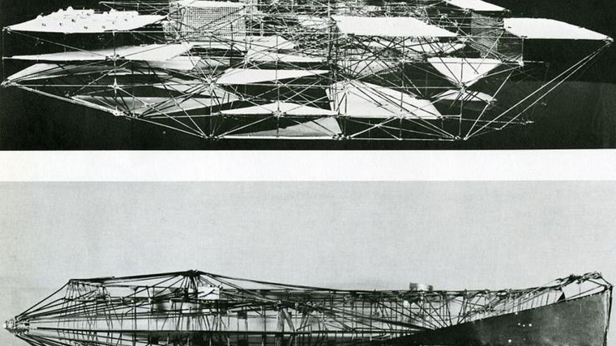 Constant Nieuwenhuys, New Babylon constructies 1958-61