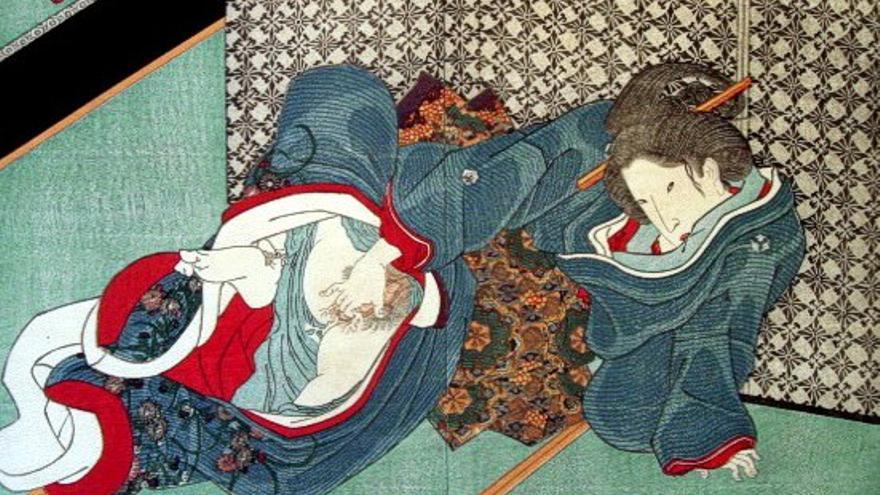 Obra atribuida al pintor japonés Kunisada.