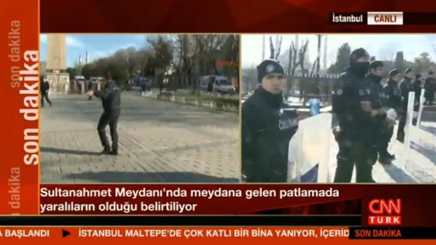 Imágenes del lugar de la explosión / CNN Türk