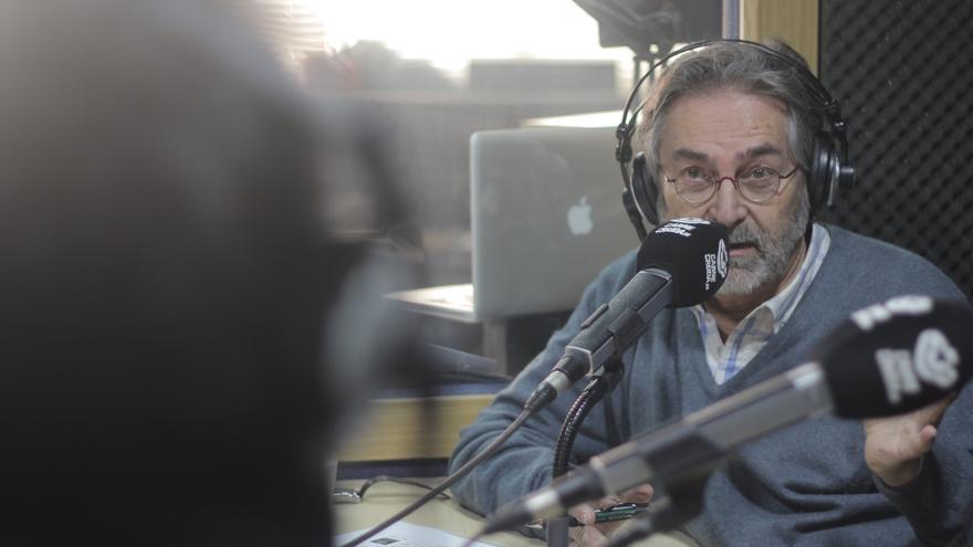 Antonio Rubio, periodista que estuvo en contacto durante años con el excomisario Villarejo - Álvaro Vega