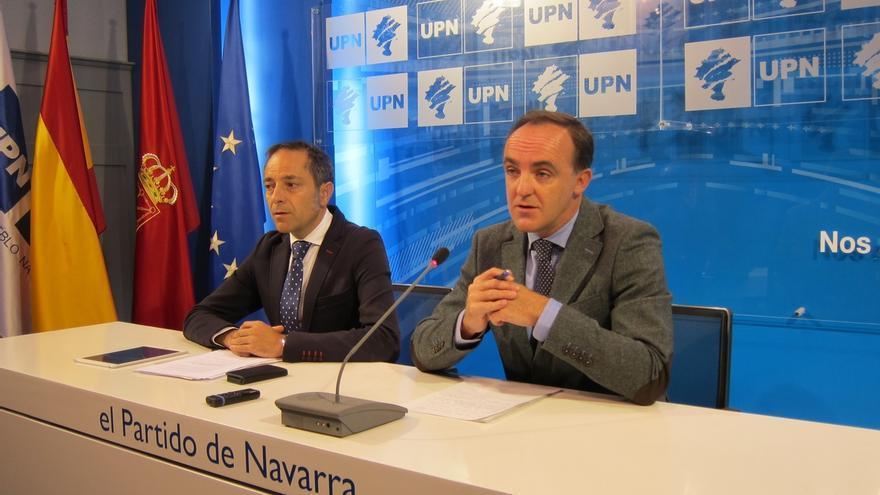 """UPN presentará una enmienda a la totalidad a la reforma fiscal del Gobierno, que supone """"un castigo brutal"""""""