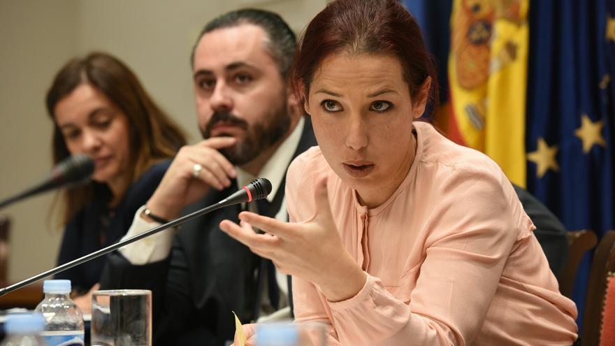 La vicepresidenta del Gobierno de Canarias, Patricia Hernández.