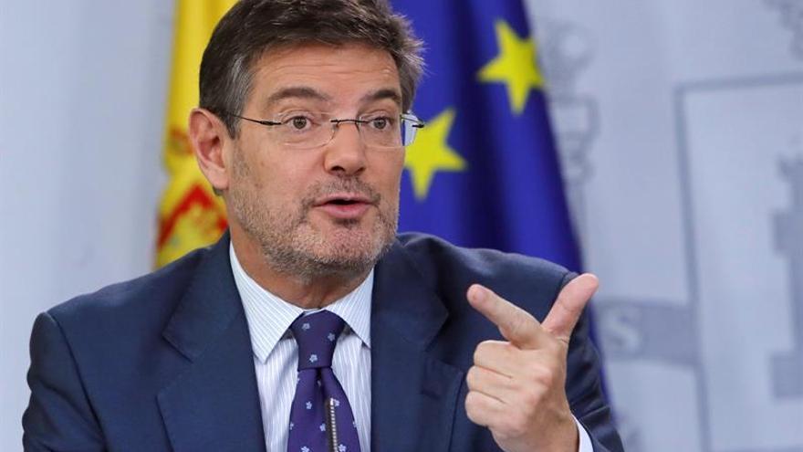 """Catalá: No debo ser """"ciego ni mudo"""" y sí alertar de anomalías en la Justicia"""