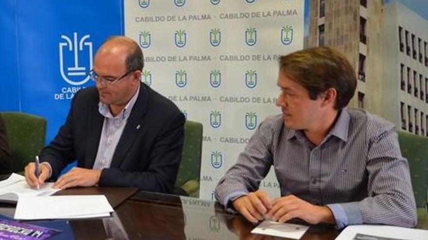 Imagen de archivo de Anselmo Pestana y Mariano Hernández.
