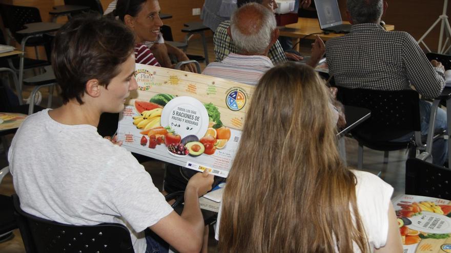 Actividad integrada en la jornada divulgativa sobre agricultura ecológica de Lanzarote