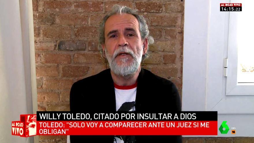 "Willy Toledo en ""Al rojo vivo"""