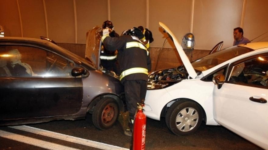 Del simulacro de accidente en el túnel de Pedro Hidalgo #3