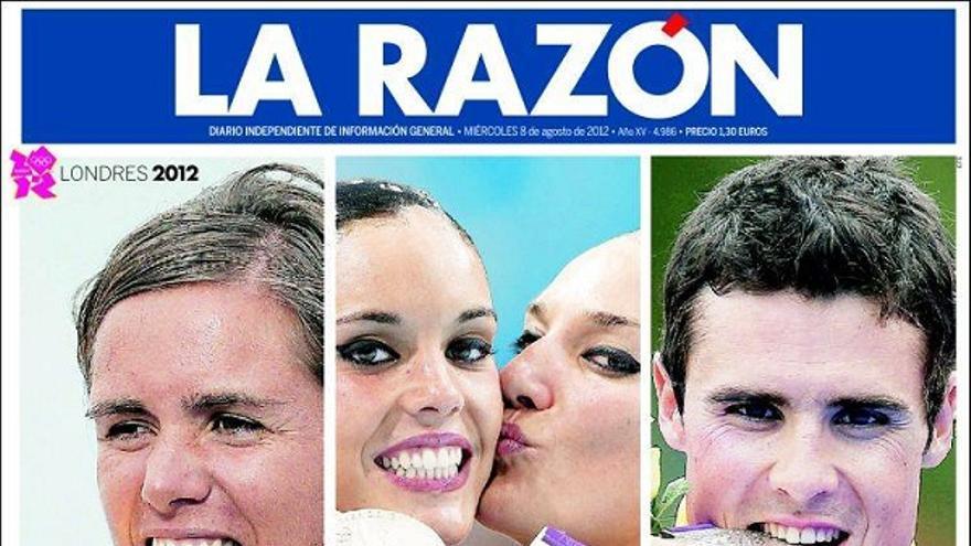De las portadas del día (08/08/2012) #9