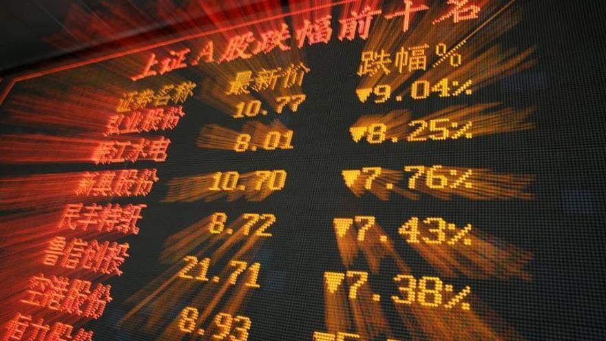 La Bolsa de Shanghái abre con descensos del 0,42 %