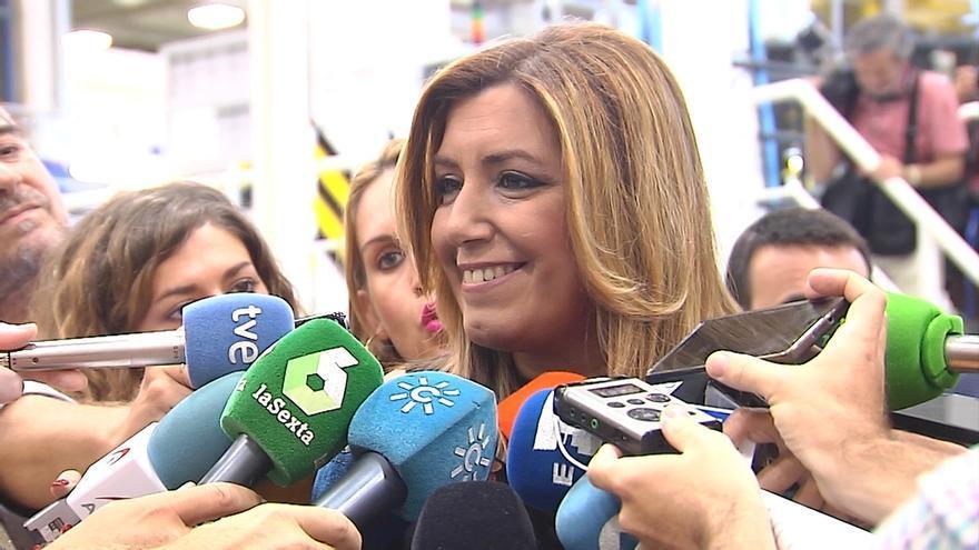 """Susana Díaz celebra que """"por fin se acabaron las reválidas injustas y segregadoras"""" y resalta la oposición útil del PSOE"""