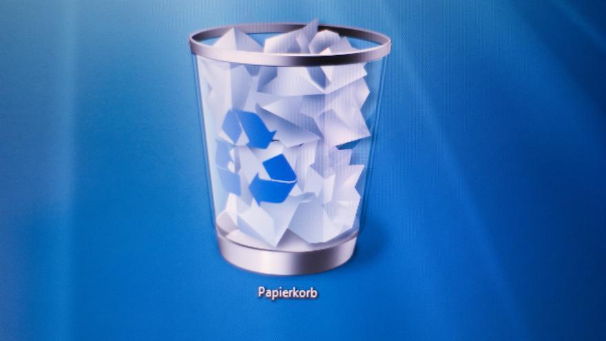 La papelera de reciclaje solo es una carpeta más de nuestro equipo
