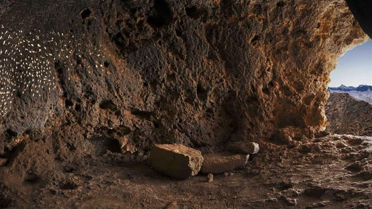 Cueva de las estrellas, en Gran Canaria