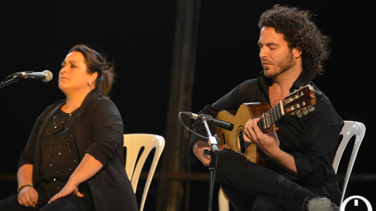 Imagen de archivo del Certamen de Jóvenes Flamencos