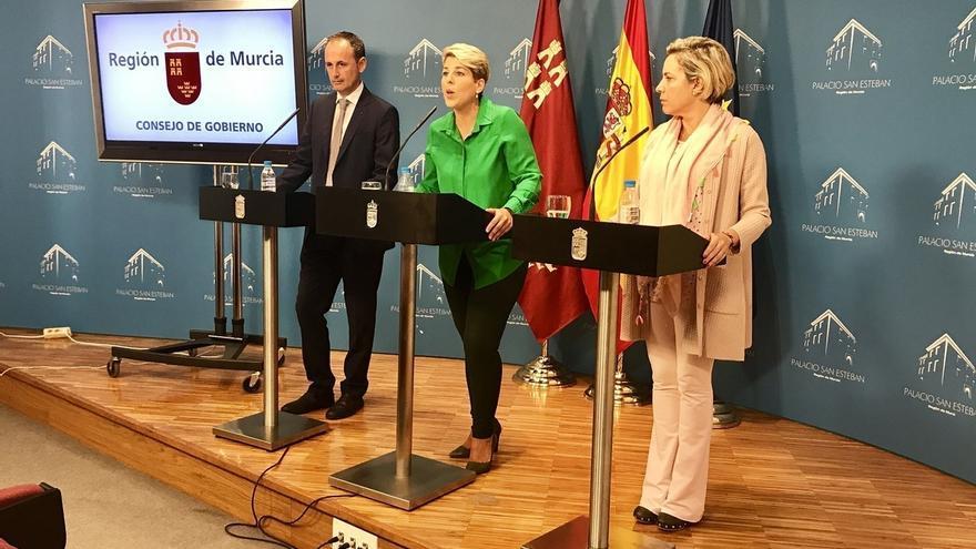 """El Gobierno de Murcia valora que el Rey dejó """"claro"""" en su discurso que """"nadie está por encima de la Ley"""""""