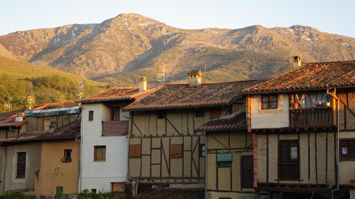 Casas tradicionales en Hervás.