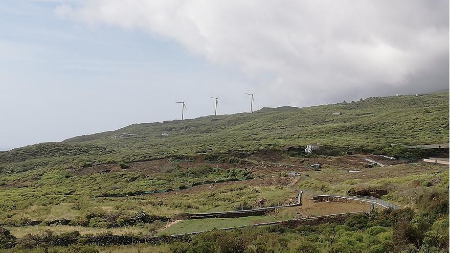 Tiguerorte, en la zona de costa del municipio de Villa de Mazo.