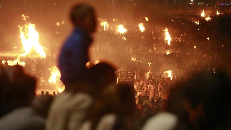 Más de 150.000 personas ganan un año perfecto con el fuego en A Coruña