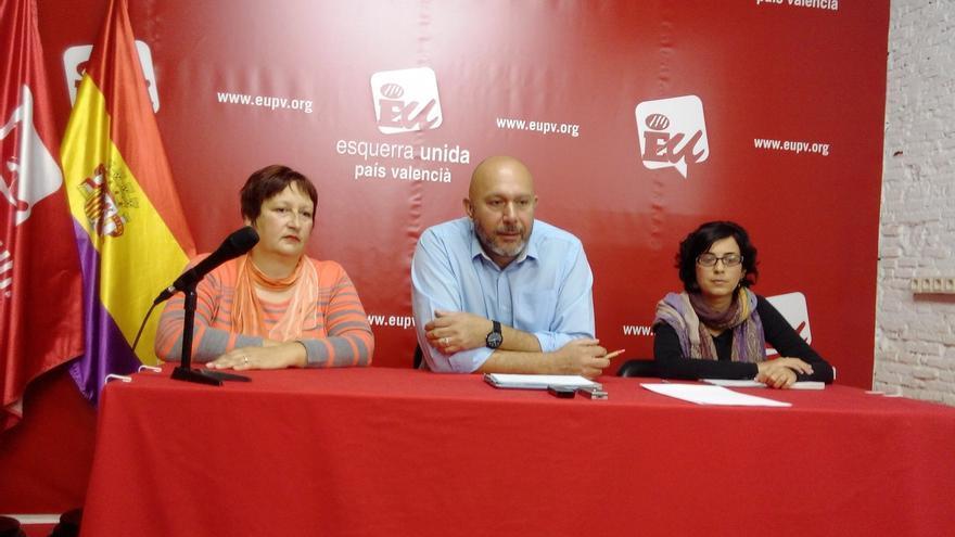 El diputado de IU Sixto se presenta a las primarias de Ara en Comú en Valencia y propone pactar con Podemos y Compromís