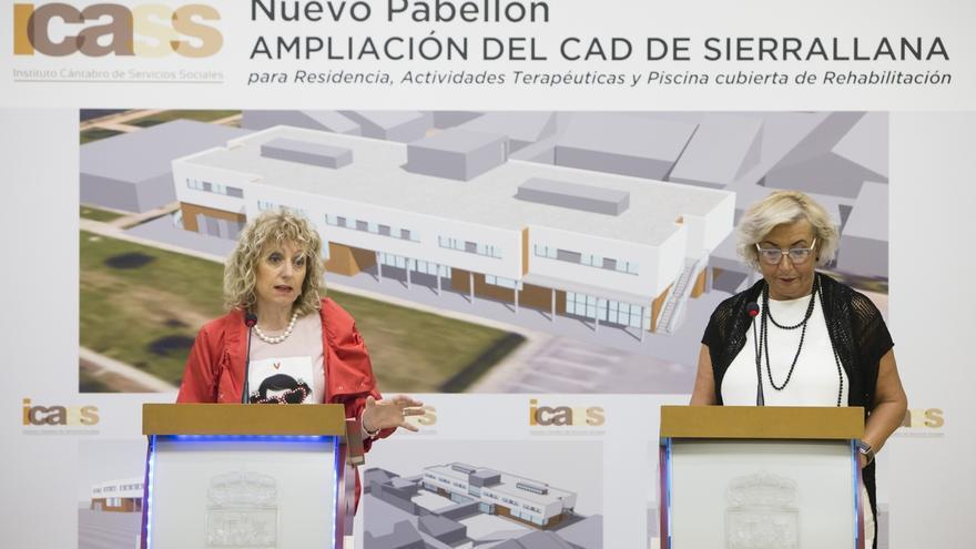 Gobierno construirá un nuevo módulo en el CAD de Sierrallana con seis plazas menos y una piscina terapéutica