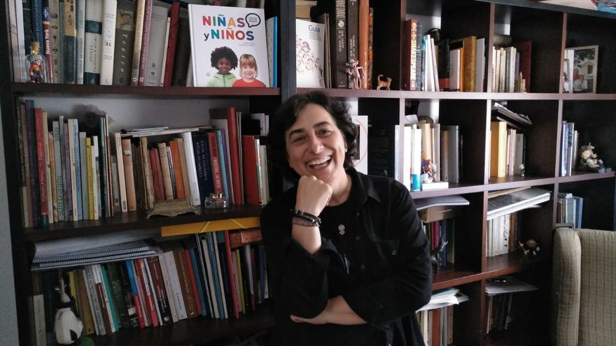 Marian Moreno, profesora de Lengua y Literatura