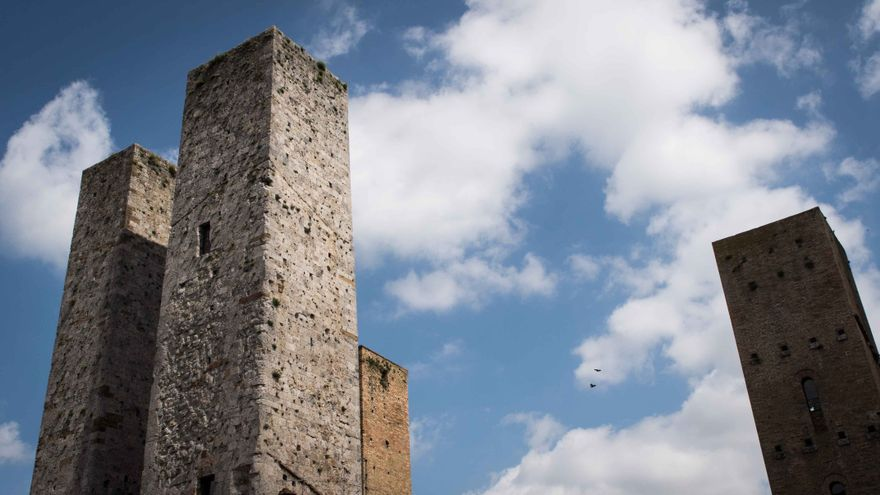 Las torres de San Gimignano.