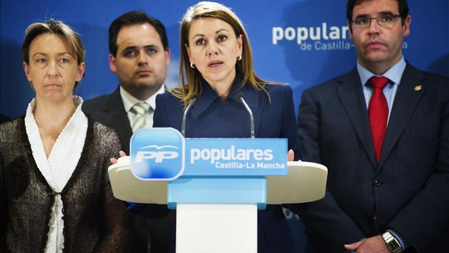 Cospedal defiende el esfuerzo de los alcaldes por hacer viables los municipios