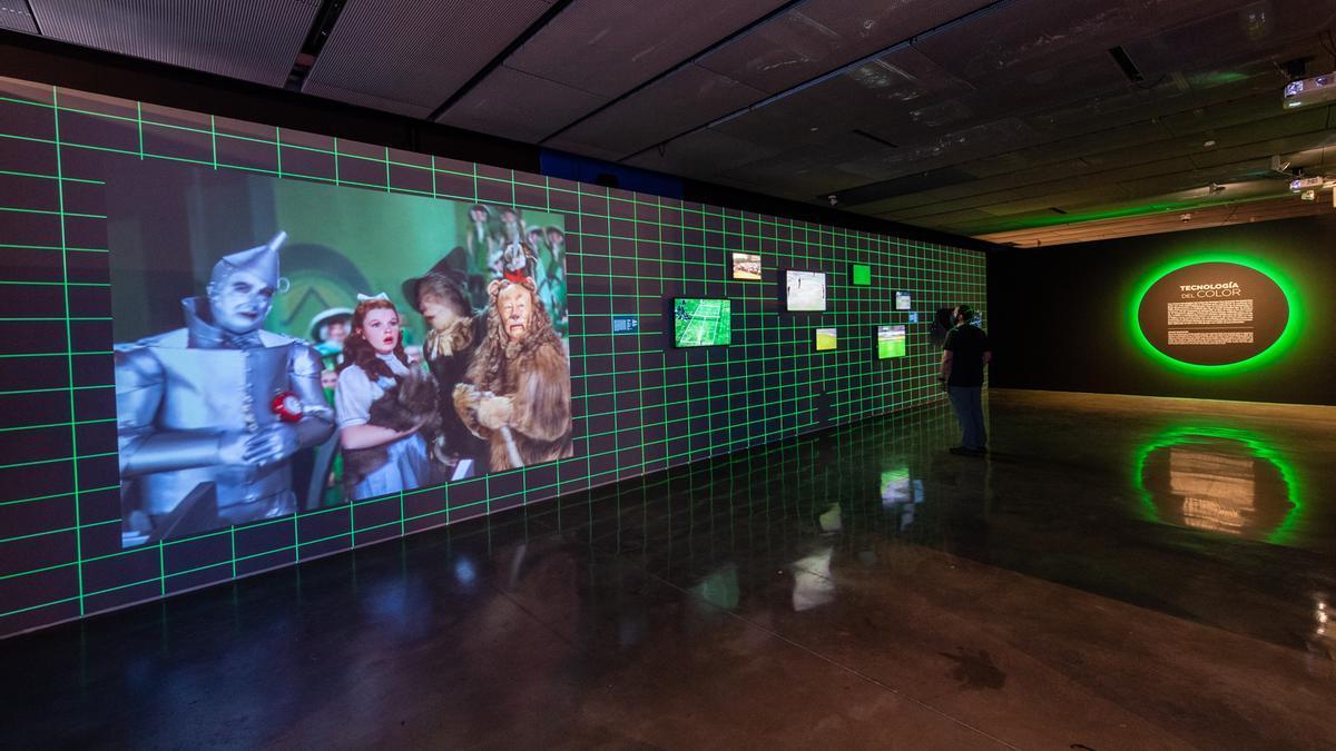 El Mago de Oz fue probablemente la primera película que utiliza el color con intencionalidad narrativa