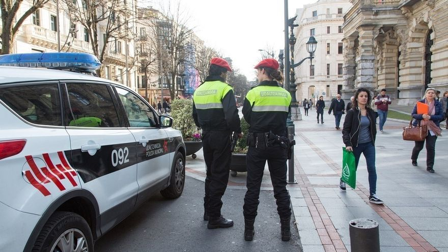 """Policía Municipal de Bilbao tramitó 119 atestados por violencia de género en 2017 y asignó 36 órdenes de protección"""""""