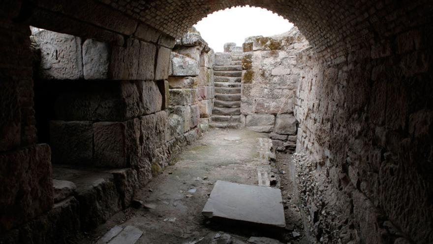 Letrinas del yacimiento de Cástulo, en Linares.