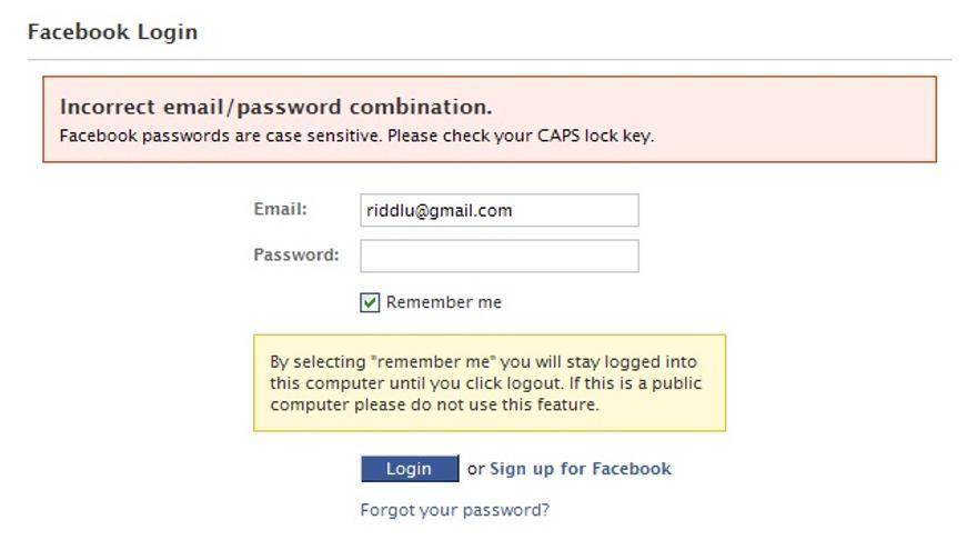 Aunque la sesión esté abierta en el ordenador, entrar en la cuenta de una red social de otra persona contra su voluntad es delito