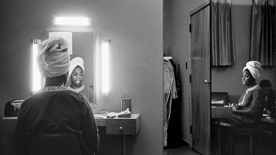 Imagen que ilustra la portada del libro 'Víctima del hechizo. Memorias de Nina Simone', publicado por la editorial Kultrum