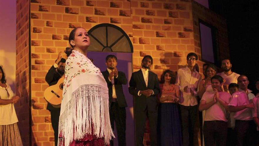 Una ópera española con voces indias por primera vez en la India