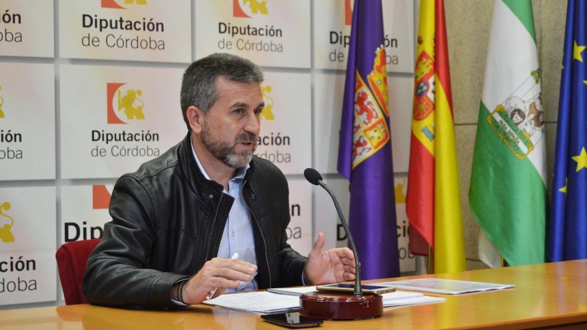 El presidente del IPBS, Francisco Ángel Sánchez