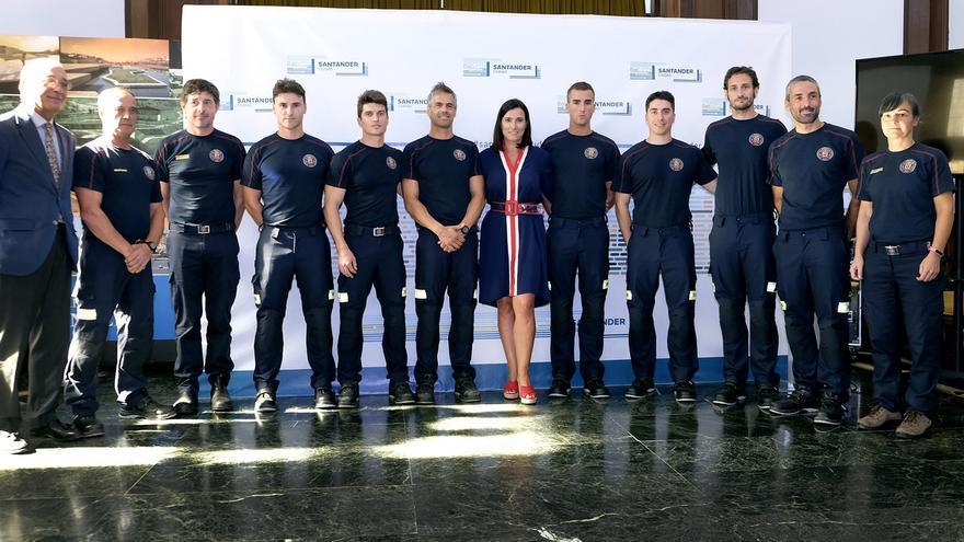 Santander incorpora siete bomberos a su parque municipal, que elevan a 109 los efectivos