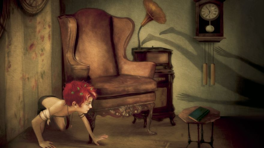 Peter Pan buscando su sombra, ilustración de Antonio Lorente